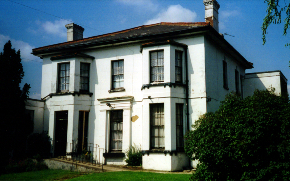 Blagdon House, Blagdon Lane, built 1826 (M A Claridge 2000)