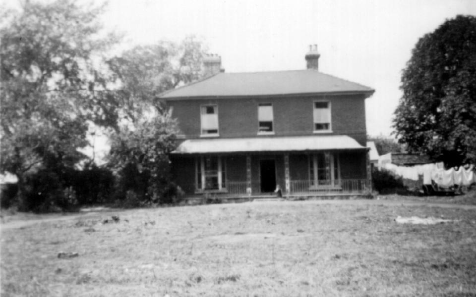 Ivy House, West Barnes Lane, demolished 1970 (original donated to MHS)