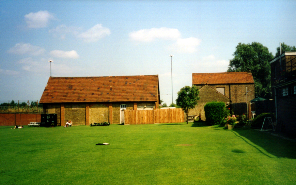 Outbuildings to Blagdon House, Blagdon Lane (M A Claridge 2000)