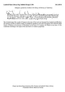 Reg. Stafford (Kemp), f. 245v &&
